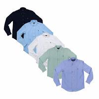 Polo Ralph Lauren Mens Buttondown Shirt Long Sleeve Knit Oxford S M L Xl Xxl New