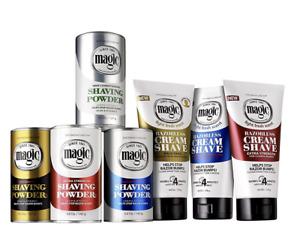 Magic Shave Shaving Powder Cream Razorless Hair Remover UNISEX ALL SKIN TYPES