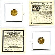 Roman Empire The Last Days of Pagan Rome Coin,Mini Album & Story,Certificate.