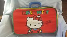 Rare Vintage 1990 Sanrio Hello Kitty Small Carry On Suitcase
