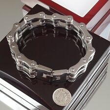 Heavy Stainless Steel Bracelet Heavyweight Men Chain Massive cuban biker Curb a2