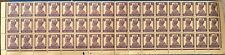 BRITISH INDIA 1940 KGVI 03 ANNAS BLOCK OF 48 HIGH C.V £