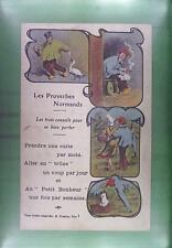 CPA France Normandie Costume Folk Folklore Trachten Traditional Humor 2083