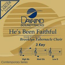 Brooklyn Tabernacle Choir - He's Been Faithful  -Accompaniment/Performance Track