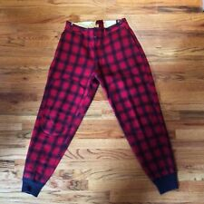 Woolrich Red and Black Vintage Buffalo Hunting Pants