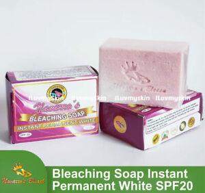 Navarro's Bleaching Soap Instant Permanent White SPF20 (1 bar soap)135g