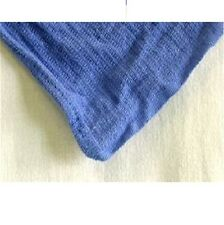 24 NEW BLUE HUCK TOWELS GLASS CLEANING JANITORIAL LINTLESS SURGICAL TOWELS!!