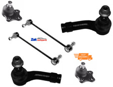 FOR Ford Fiesta MK6 02-08 Front 2 Links, 2 Outer Track Rod Ends & 2 Ball Joints