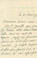 Lettera su Carta del Convento del Sacro Cuore di Roehampton S.W. Londra 1897