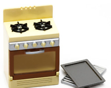 Megahouse 2004 Miniature Happy Story Retro Style Kitchen COOKING STOVE SET Rare