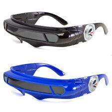 Space Robot Alien Costume Futuristic Frame Robot Polarized Sunglasses Robocop