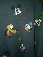 Disney Mickey Mouse Donald Duck Goofy All Over Print T-shirt Men's Size Large