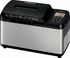 New Zojirushi Home Bakery Virtuoso Plus Breadmaker 2 lb loaf of bread BB-PDC20BA