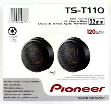 "TS-T110  PIONEER .88"" Component Tweeter Pair, 120W max, Flush or surface mount"