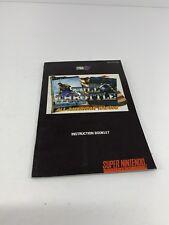 Full Throttle (SNES Nintendo, Manual Only)