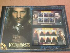 Limited Edition, Isle Of Man The Lord Of The Rings (FDC) Stamp card Certified !!