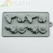 Insect Silicone Soap mold Candy Chocolate Fondant Tray ICE Cube
