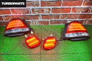 JDM Rear Eagle Eyes Tail Lights Toyota Aristo JZS160 Lexus GS300 GS400 97 - 05