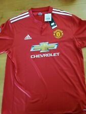 New adidas authentic player fit Manchester United jersey 17/18 XXL 2XL POGBA