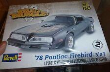 Revell 1/24 '78 PONTIAC FIREBIRD 3n1 MUSCLE Model Car Mountain FS