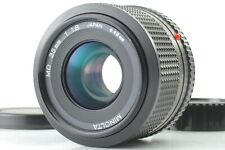 【MINT】 Minolta New MD 35mm f/1.8 Wide Angle Manual Focus w/ caps from JAPAN #442