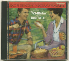 SCREECHING WEASEL How To Make Enemies And Irritate People; 1994 CD Lookout Recor