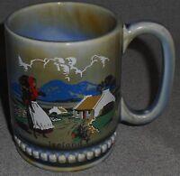 Wade Irish Porcelain IRELAND - COUNTRY SCENE 12 oz Handled Mug IRELAND