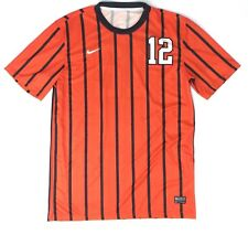 New Nike Men s M Authentic Syracuse Team ID S S Game Jersey Soccer Orange   2cd2a2e6b