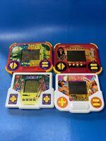 Bundle! Vtg Tiger Electronics 4 Handheld Games