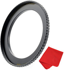 Breakthrough Photography 55mm to 67mm Step-Up Lens Adapter Ring for Filters, of