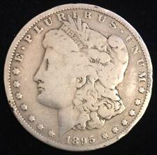 Genuine Circulated 1895 O New Orleans Morgan Silver Dollar! FREE SHIPPING! M02