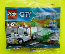 Lego City 30313 Kehrwagen Reinigungswagen Stadtreinigung Polybag Neu 2015 Ovp