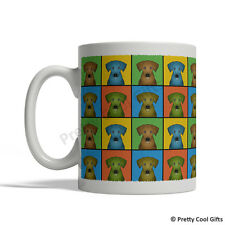 Rhodesian Ridgeback Dog Mug - Cartoon Pop-Art Coffee Tea Cup 11oz Ceramic