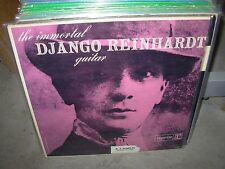 DJANGO REINHARDT immortal guitar ( jazz ) WHITE LABEL PROMO