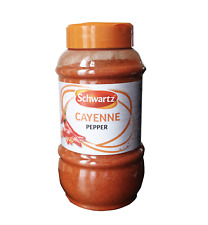 Schwartz™ Cayenne Pepper 🌶 390g Large Catering Size Jar 100% Pure & Hot 🔥