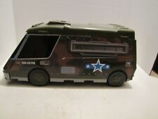 1991 MICRO MACHINES MILITARY SUPER VAN CITY FOLD OUT PLAYSET GALOOB USED
