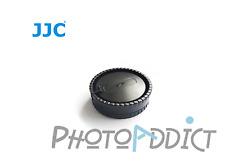 JJC L-R6 Bouchon de boitier + Bouchon arrière d'objectif pour  Sony Alpha S/M