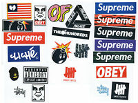 Supreme Classic Box Logo 23 X Skateboard Stickers Car Vinyl Decal Laptop Sticker