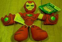 "Marvel Super Hero Adventures Avengers IRON MAN 6"" Plush STUFFED ANIMAL Toy NEW"