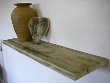 Large Floating chunky Driftwood Shelves with hidden supports