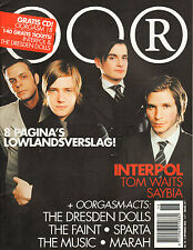 MAGAZINE OOR 2004 nr. 18 - INTERPOL / TOM WAITS / DRESDEN DOLLS / SAYBIA