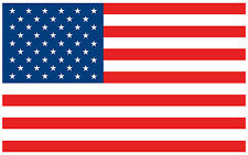 """American Flag Usa Decal Sticker Vinyl Patriotic Stars and Stripes - 6"""" in."""