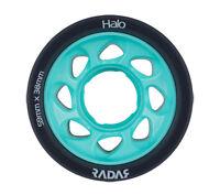Radar - Halo 88a Teal roller derby wheels ( 4 pack )