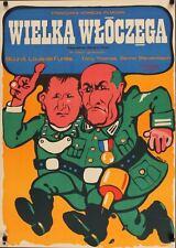 LA GRANDE VADROUILLE affiche Polish A1 movie poster LOUIS DE FUNES BOURVIL NM