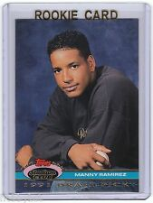 RC~MANNY RAMIREZ 1992 Stadium Club Dome ROOKIE CARD~92~WORLD SERIES~MVP~ALL-STAR