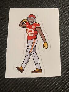 """Tyrann Mathieu Kansas City Chiefs Sticker Decal Super Bowl Honey Badger 4"""" x 2"""""""