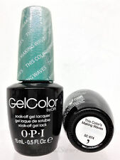 Opi Gelcolor - Soak Off Gel Nail Polish 0.5oz/15mL - Series 4! Fast Shipping!