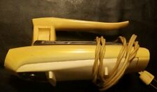 Vintage General Electric Hand Mixer Yellow 3 Speed Great Atomic Age Look WORKS
