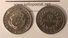 Costa Rica coin 10 centimos 1958, VERY FINE condition , see pictures VF $$$