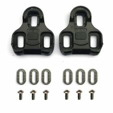 Look Keo compatible pedal cleats replacement set - Black 0° float